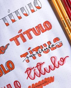 Bullet Journal Weekly Headers For You To Copy Bullet Journal Titles, Bullet Journal Lettering Ideas, Journal Fonts, Bullet Journal School, Bullet Journal Inspiration, Lettering Tutorial, Schrift Design, Doodles, Banners