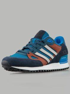 Adidas ZX750 Hero Blue Bliss Legink