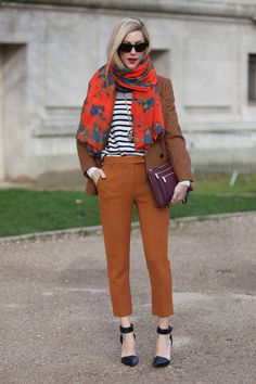 scarf and stripes!