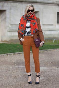 Street Style Paris Fashion Week - Street Style Photos from PFW - ELLE