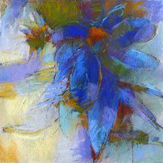 Blue Coneflower pastel    Debora L. Stewart