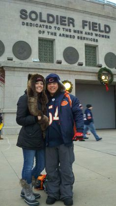 Soldier Field, Chicago. GO BEARS!!!