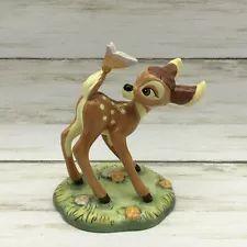 "Walt Disney Showcase Royal Doulton ""Bambi"" with Butterfly Figurine"