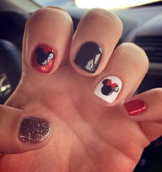 Mickey and Minnie Nails!