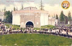 ANTIQUE  Postcard Gettysburg BattlePay Streak by PostcardsNMore, $7.95
