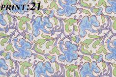 5 Yards Cotton Voile Hand Block Print Fabric Natural Dyes Sanganer FB-21 #Handmade
