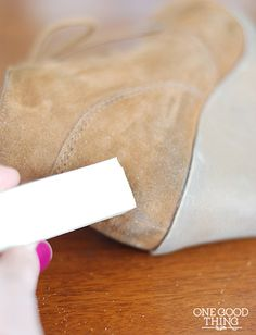 Clean Suede With Baking Soda Diy Projects How To Clean