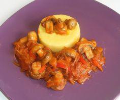 Tocanita de ciuperci cu mamaliga retete culinare,