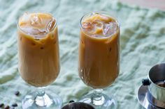 Vietnamese Iced Coffee Recipe (Quick )  Ingredients: 2 Tablespoon Sweetened Condensed Milk 2 oz. Espresso Ice  Directions: Pour the sweetened condensed milk in a glass. Add the hot espresso and stir to combine. Taste and adjust to preference. Add ice and serve.