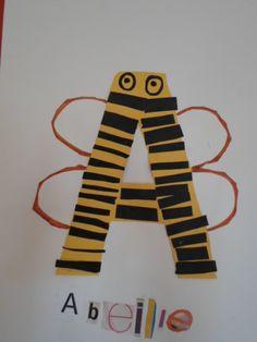 lettre abeille