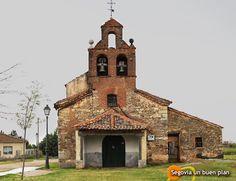 Iglesia de San Juan Degollado en Tizneros, pequeña población cercana a Segovia capital. www.segoviaunbuenplan.com