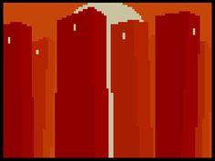After Sleep Comics - Walls of Fire by Turgut Işın Pixel Art, Horror, Art Gallery, Walls, Sleep, Fire, Comics, Design, Art Museum