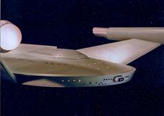 Romulan Bird of Prey Model close up