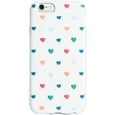 Agent 18 Flexshield Heart Print iPhone 6/6s Case ($13) ❤ liked on Polyvore featuring accessories, tech accessories, hand drawn heart, agent 18, apple iphone cases, iphone cover case and iphone case
