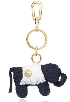 Darling elephant key fob by Tory Burch - only 2 left! Take up to 30% off with code:  LABORDAY14 http://rstyle.me/n/pf3n9nyg6