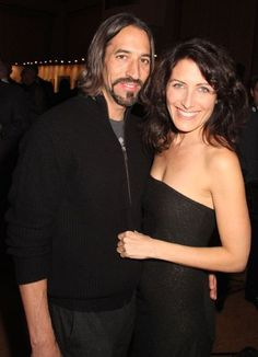 Lisa Edelstein and Robert