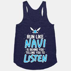 Run Like Navi Is Behind You Telling You To Listen | HUMAN | T-Shirts, Tanks, Sweatshirts and Hoodies
