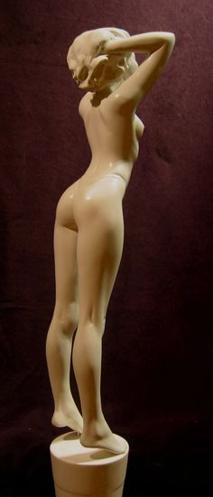 Celebrate the Sun ,  Female Figurative Sculpture , Cast Resin , Sculptor Butch Charlan