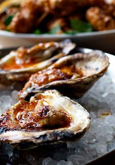 TASTE OF WOOD-FIRED OYSTERS FROM COCHON RESTAURANT NEW ORLEANS