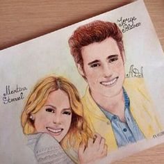 Beutiful hand drawing of tina and leon ❤️❤️❤️ Violetta Disney, Celebrity Drawings, Harry Potter Aesthetic, Best Friends Forever, Fantastic Beasts, Disney Channel, Hogwarts, How To Draw Hands, Photo And Video