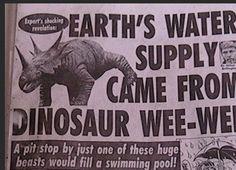 I'm gonna rain all over your parade. #DinoThursday