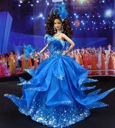 OOAK Barbie NiniMomo's Miss Chile 2009