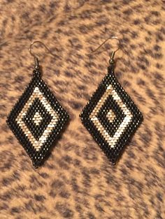 A personal favorite from my Etsy shop https://www.etsy.com/listing/229276078/handmade-beaded-earrings
