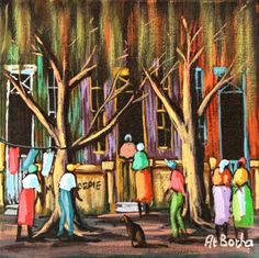 At Botha ~ Alice Art Gallery, South Africa South African Artists, What The World, Naive Art, Folk Art, Art Gallery, Alice, Passion, Artwork, Painting