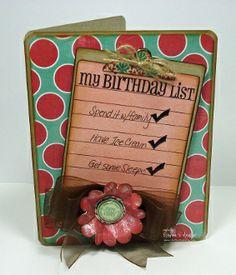 Honey Do List Stamp Set