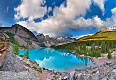 Moraine Lake,Banff National Park, Alberta Canada. I love Banff!