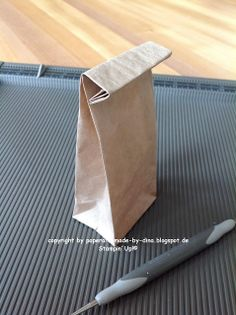 Anleitung zur Mini-Lunchtüte aus SU-Packpapier