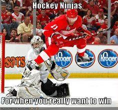 Haha...red wings humor, hockey humor
