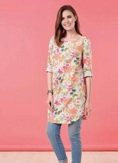 patron gratuit couture tunique femme
