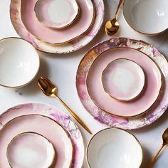 New Photos pottery handmade plates Concepts Aquarell Porzellan Geschirr Home Decor Accessories, Decorative Accessories, Kitchen Accessories, Decoration Table, Handmade Home Decor, Ceramic Pottery, Ceramic Art, Slab Pottery, Pottery Plates