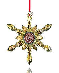 Baccarat Christmas Ornament Collection - Christmas Ornaments - Holiday Lane - Macy's