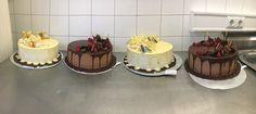 TORTEN LUST: {Rezept} Zitronen-Sahne-Torte mit Buttercreme und weißem Ganache-Drip