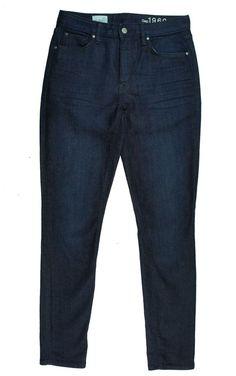 New GAP Size 27 R Dark Denim High Rise Skinny Jeans  #GAP #SlimSkinny