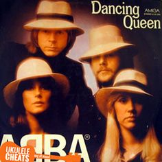 ABBA - Dancing Queen Ukulele Chords On UkuleleCheats.com. Match the song to your voice and sing it perfectly. Free Transpose feature and Voice Range