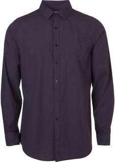 Purple Smart Shirt $48.00 thestylecure.com