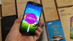 Exclusive Second Preview - Android 5.0 Lollipop on Samsung Galaxy S4