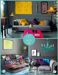 interiors grey with brights - Google Search