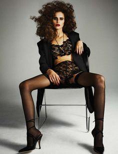 Schwarzer Faden - fashionfaves:   Loulou Robert by Michael Schwartz...