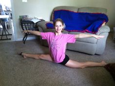 How to Do the Splits and Variations of Them