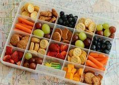 Handige snacks voor onderweg!