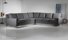 American Leather Sectional