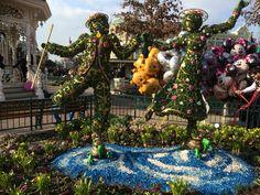 Van 5 maart tot en met 29 mei viert Disney de lente dit is in het hele park terug te vinden #disneylandparis