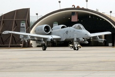 My favorite plane to work on, A-10 at Osan AFB, South Korea
