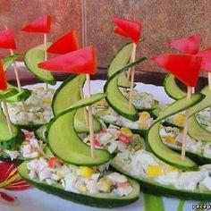 Boat appetizers