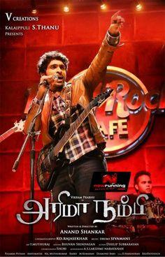 Arima Nambi Tamil Movie Poster