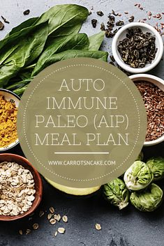 This 7-day meal plan follows the Autoimmune Paleo Protocol as developed by Dr. Sarah Ballantyne, Ph.D. It is free from all foods with the potential to stimulate the immune system, increase inflammation, and cause irritation to the digestive tract. Paleo Recipes, Whole Food Recipes, Snack Recipes, Snacks, Nutrition Program, Nutrition Plans, Carrots N Cake, Dr Sarah, Macro Nutrition